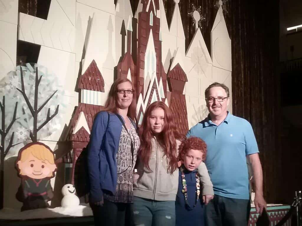 The morris's at Disney