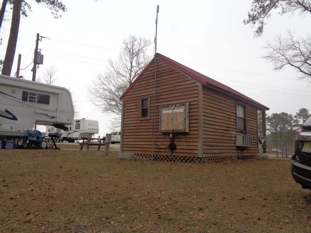 tiny home in rv park