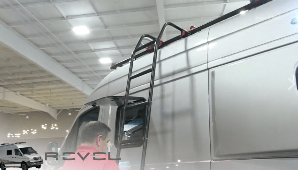 russ garfin winnebago revel removable ladder