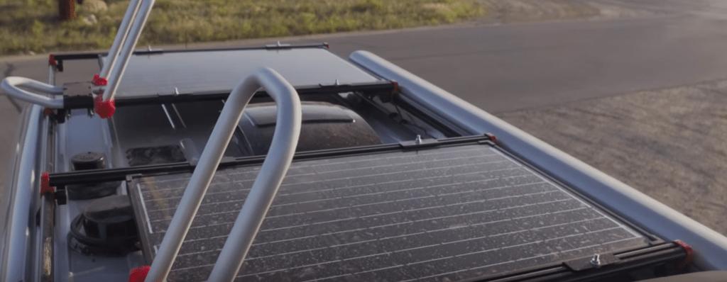 solar panels come standard on winnebago revel