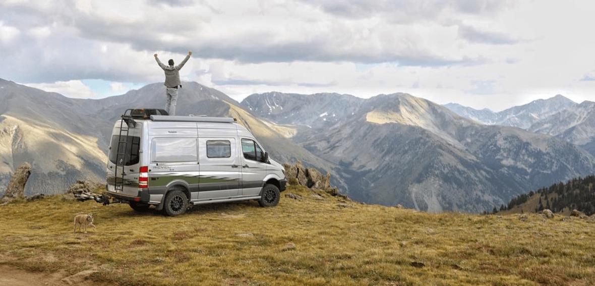 the winnebago revel in the mountains
