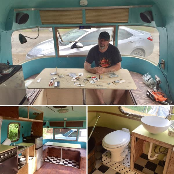 Our Argosy Remodel - The Virtual Campground