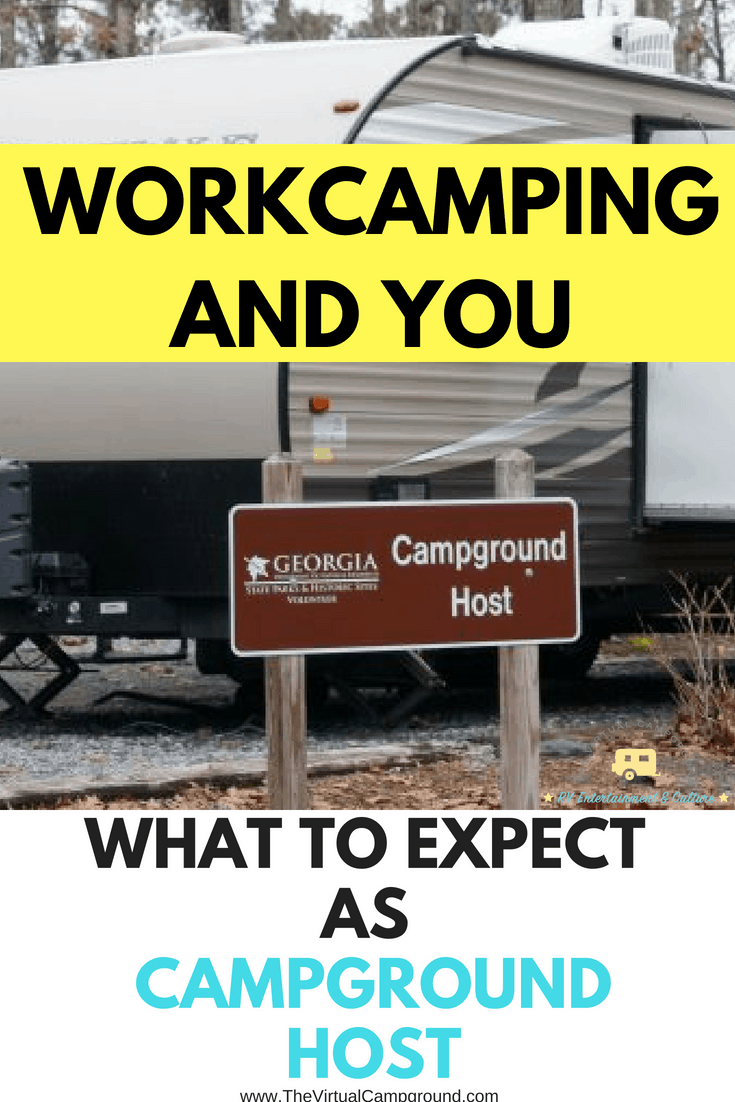 Workcamping life as a full-time RVer can sound like the perfect job at camps in the summer, but what is it really like to work as a camp host in an RV park? Click this post to read all the details and more! | www.TheVirtualCampground.com