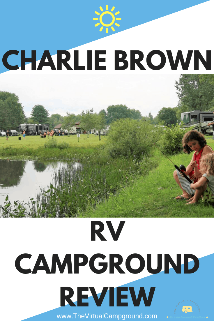The full-time RV family behind The Virtual Campground reviews Charlie Brown Campground in Northeast Connecticut. If you're planning a trip or vacation to the East Coast in your RV, camper, or travel trailer then this is a must-read! | www.TheVirtualCampground.com