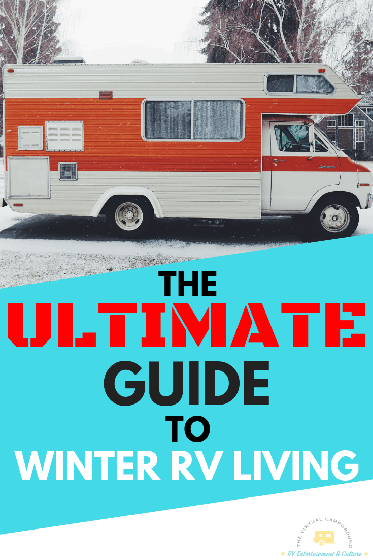 This guide to winterizing your RV is a must read for anyone with a travel trailer. Whether you plan on living full-time in your RV through the winter in a cold climate, or just need to get your rig ready for snow weather you need to read the ultimate guide to maintenance for winter RV living. Click here! #RVLiving #winter #coldclimate #RVmaintenance #maintenance #snow #WinterRVLiving #RVHacks