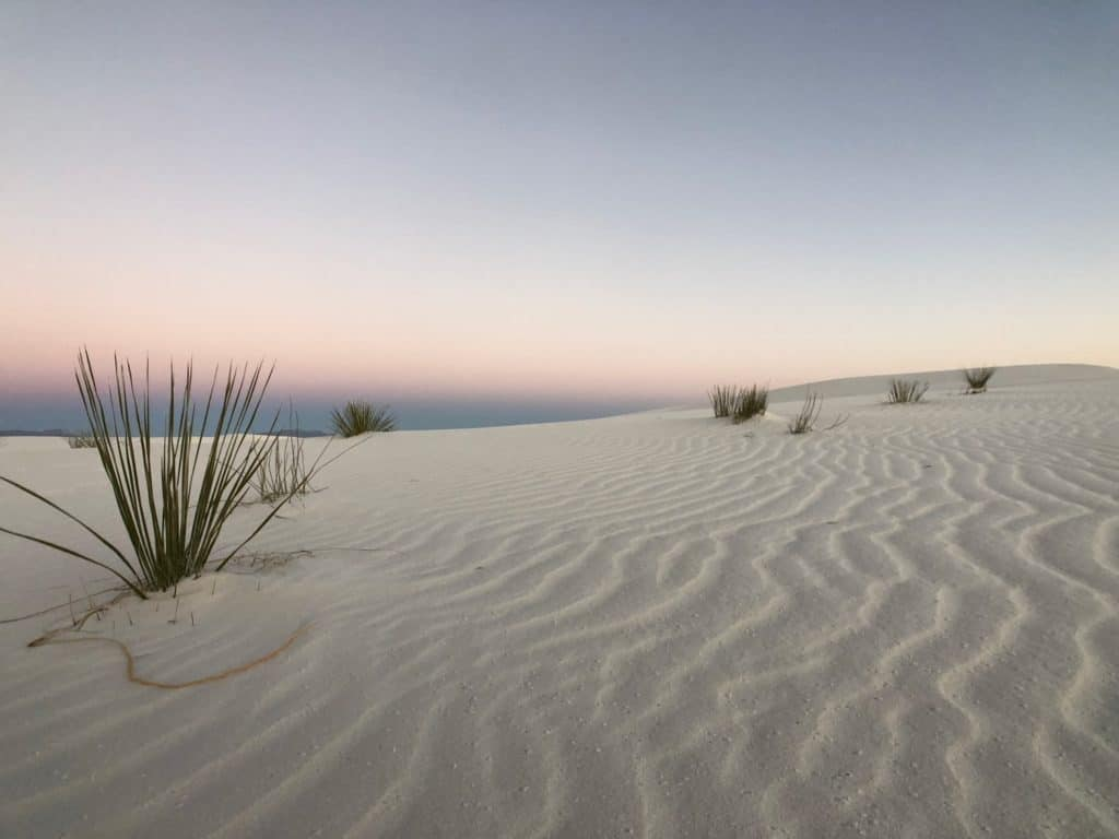 photo by Tiny Shiny home of the White Sands National Monument in New Mexico