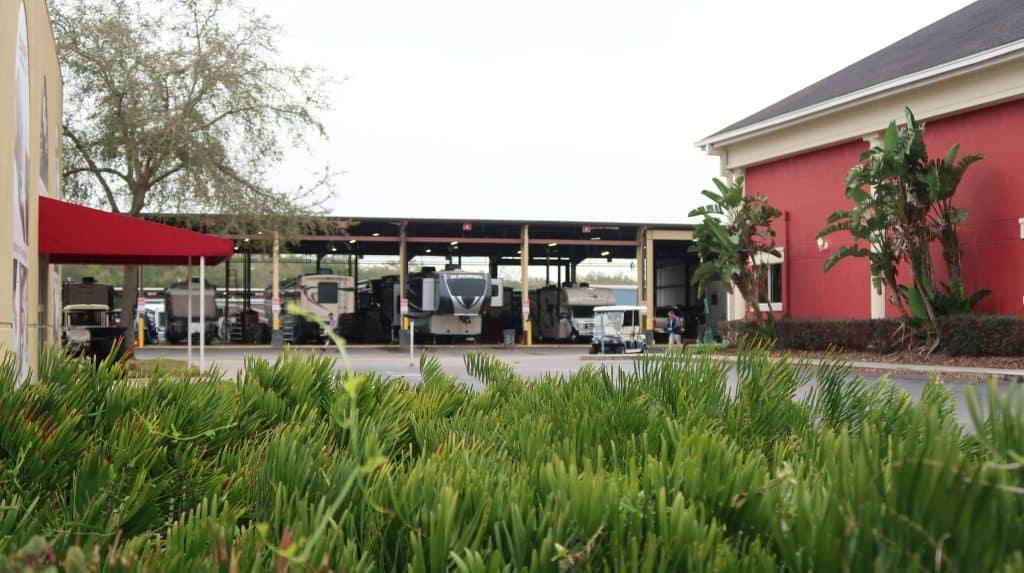 Overloaded RV Repair Shop