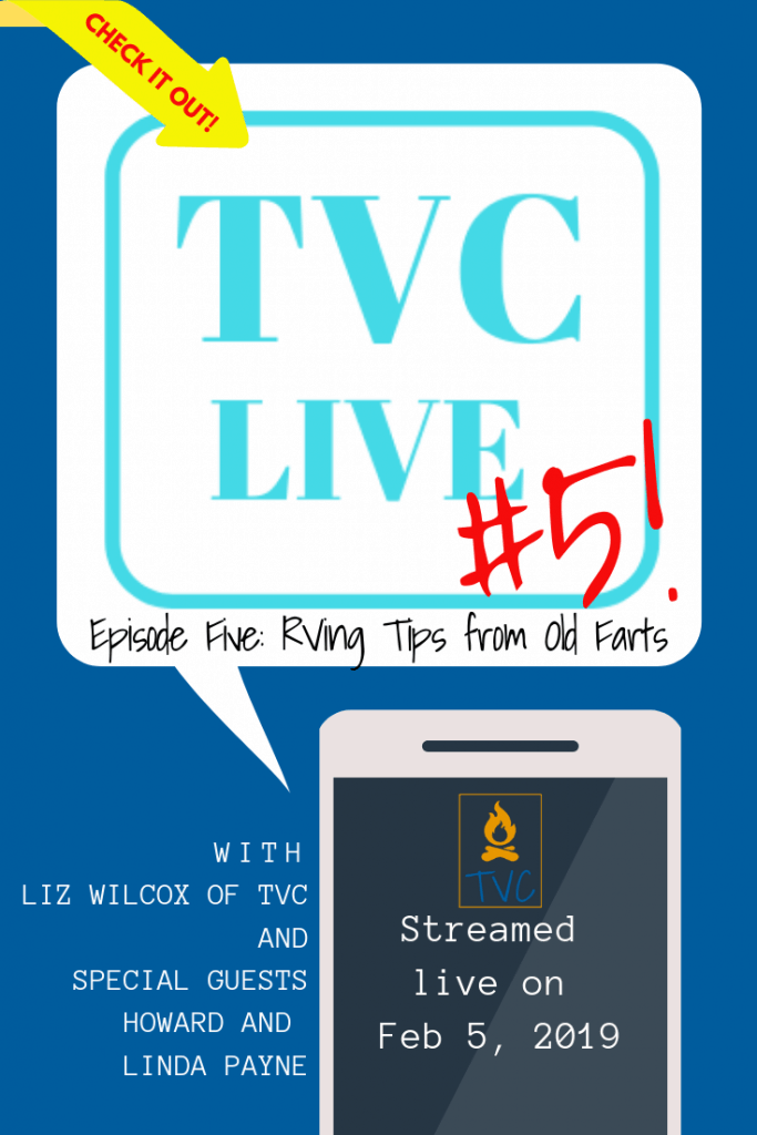 Join this live episode of The Virtual Campground to hear Liz pick the brains of a long-time RV living couple, Howard and Linda Payne. Hear the best RVing Tips from a family whose been there, done that so you don't make the same mistakes! | www.TheVirtualCampground.com