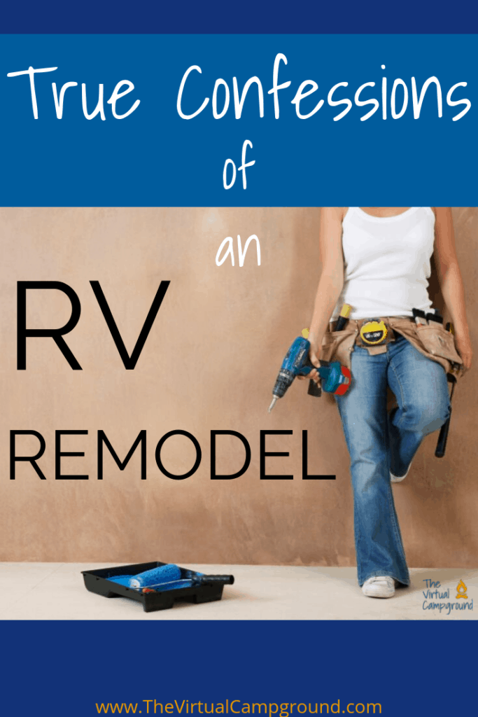 RV renovations and remodels are tons of fun to dream of when you're searching before and after photos, but if you want to know the truth of what it's really like to repair and renovate a used RV-- this is the post for you, friend. Click to tread on.