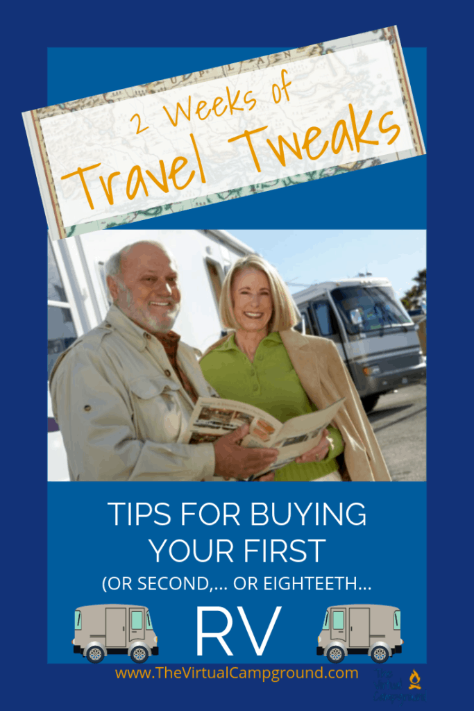 2 Weeks of Travel Hacks: RV shopping can be fun..., and confusing! Today I'll be sharing my insider tips from years of full-time RVing. Do you need advice for purchasing your first motorhome? Did you have a crappy experience buying your first camper? This podcast is for you! #goRVing
