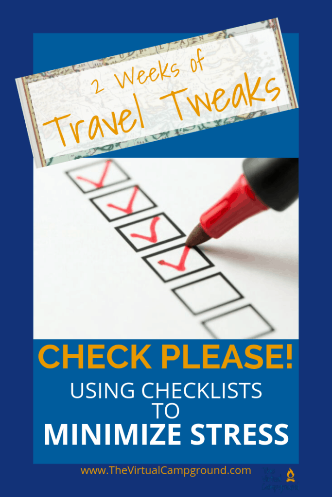 Ready for a travel tip from Captain Obvious? Checklists! Yes, you need to use checklists. Yes, they will make your travel adventures and planning more simple, organized, and most importantly more FUN! Click to see my best hacks for using lists to plan your RV trips.
