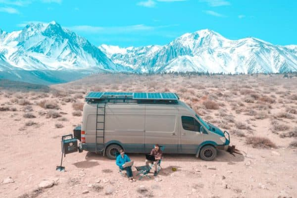 How to create a fully functional solar RV battery charger