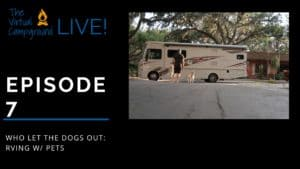 Cover picture for RVing with pets episode
