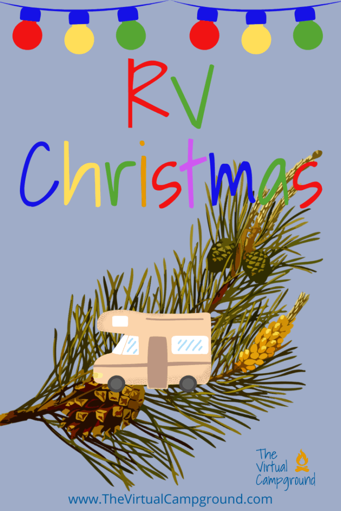 The ultimate RV Christmas article! Click to read all the details on RV Christmas decorations, lights, a tree, cards, decorating travel trailers, and all the best ideas for the holidays!