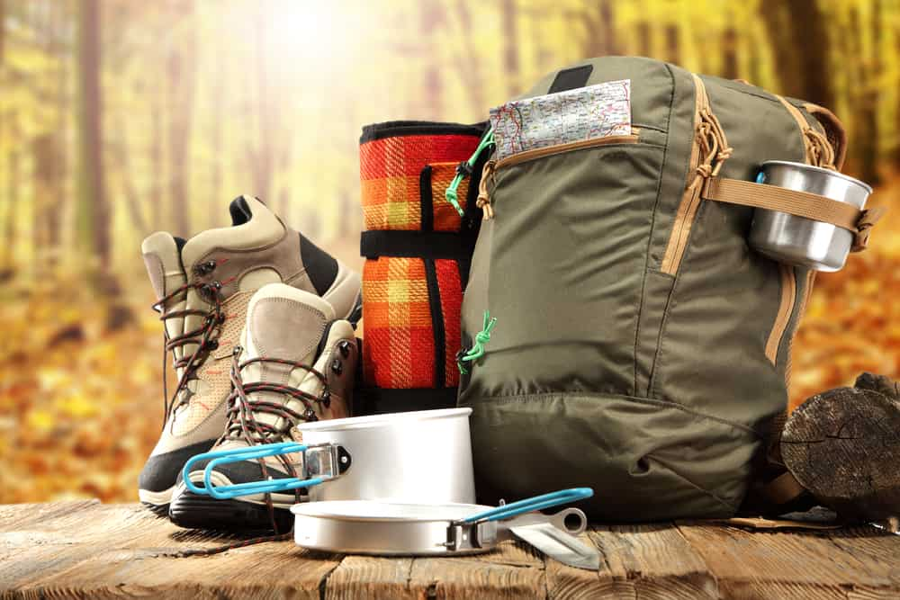 Stuff to bring on your camping or hiking trip