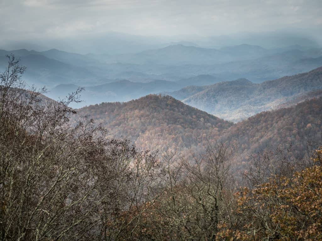 View of Smoky Mountains Valley