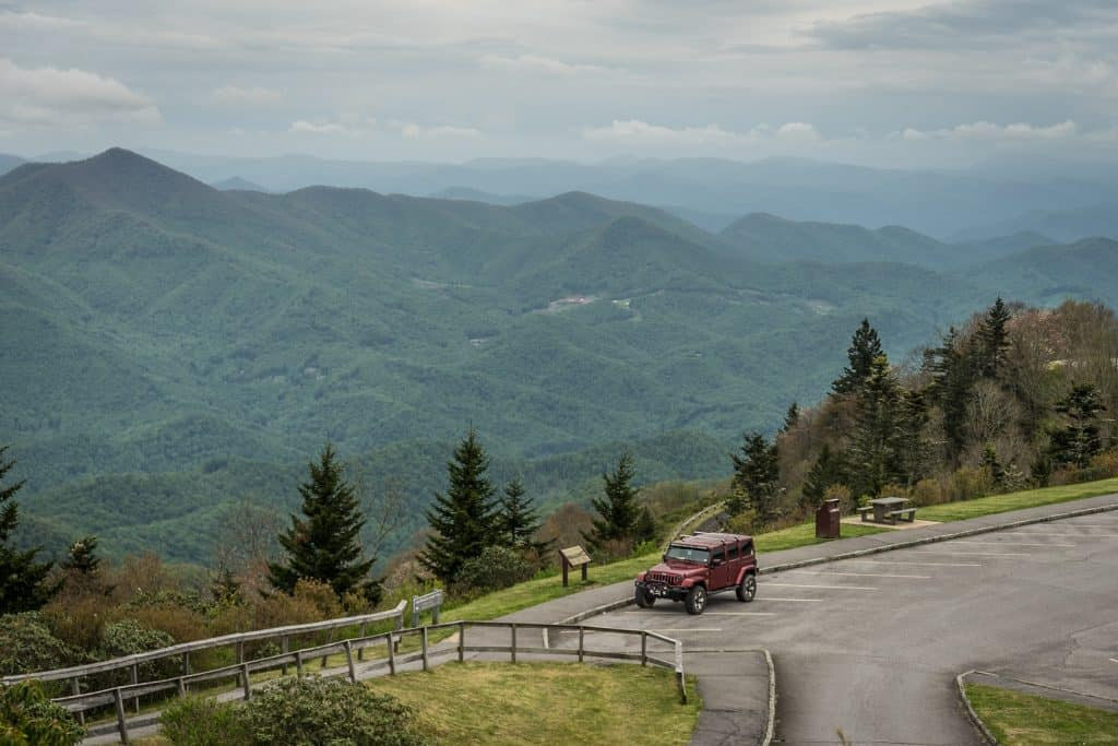View of Blue Ridge Parkway