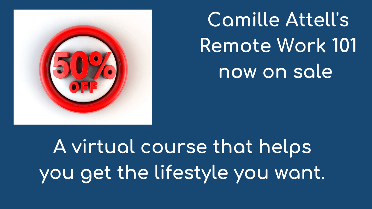 Camille Attell and Remote Work on TVC Live