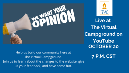 Learn about The Virtual Campground 2.0 & Help Us Build It